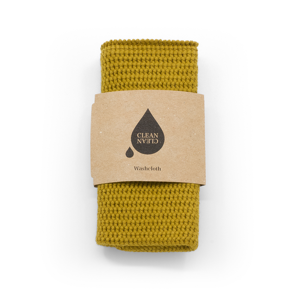Washcloth Mustard