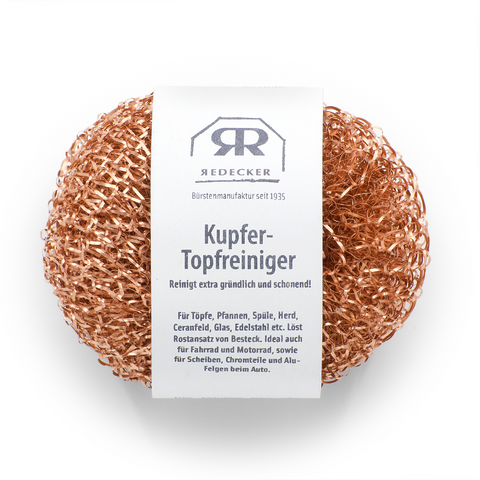 Copper scouring pad set of 2
