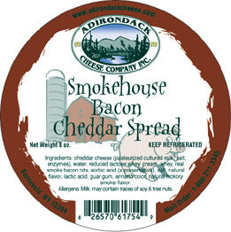 Adirondack Smokehouse Bacon Spread 4 or 8 Pack