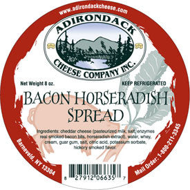 Adirondack Bacon Horseradish Spread 4 or 8 Pack