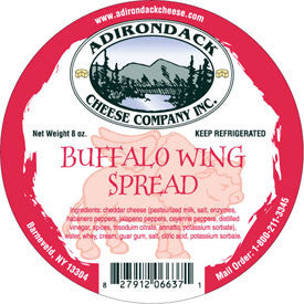 Adirondack Buffalo Wing Spread 4 or 8 Pack