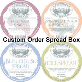 Custom Order Mix or Match Spread Box 4 Pack