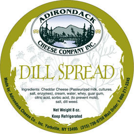 Adirondack Dill Spread 4 or 8 Pack