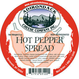 Adirondack Hot Pepper Spread 4 or 8 Pack