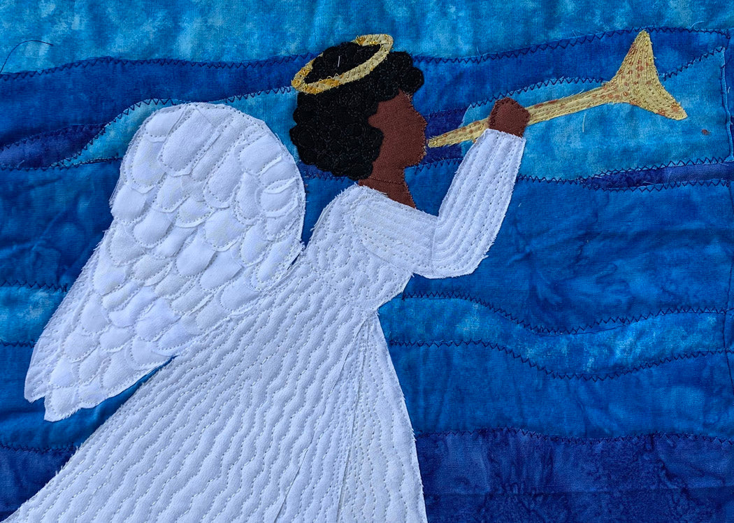 African-American angel card