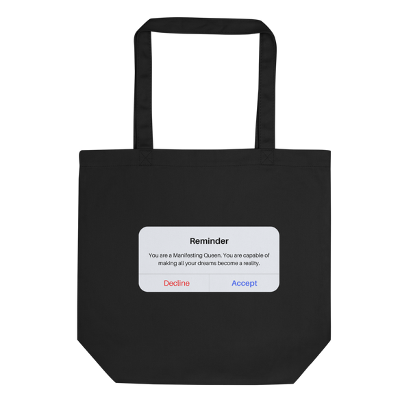 """Reminder"" - Eco Tote Bag"