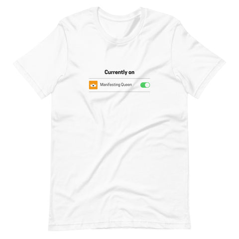 """Currently On iOS"" T-Shirt"