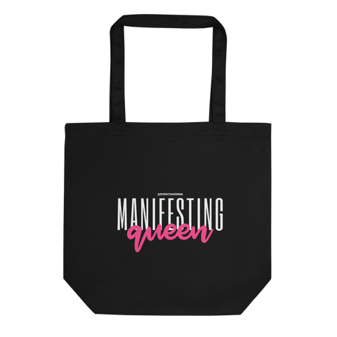 """Manifesting Queen"" V1-  Eco Tote Bag"