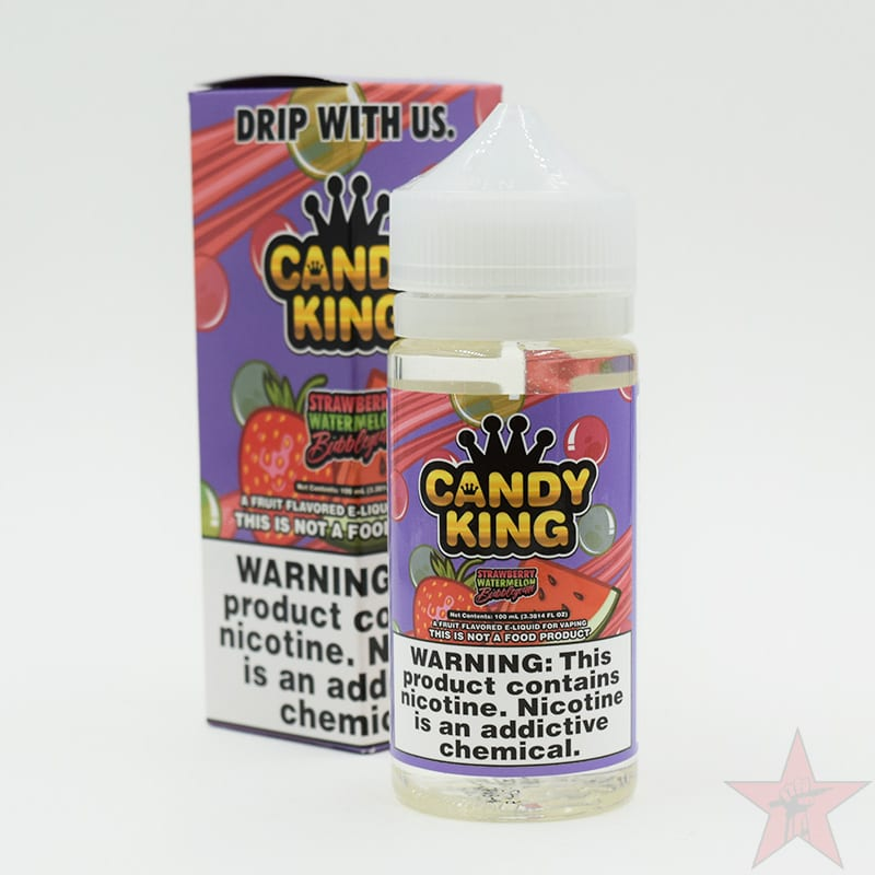 Candy King 3mg 100m Ice Strawberry Watermelon Bubblegum - palaya vapes