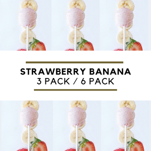 Strawberry Banana Pop Packs