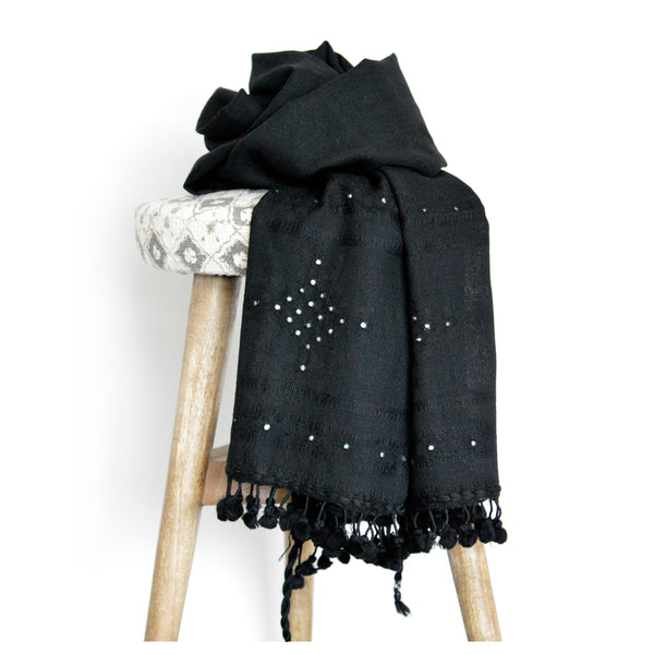 Little Reflections Scarf - Black