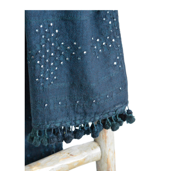 Little Reflections Scarf - Indigo