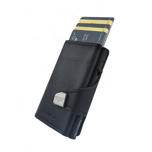 Large Capacity Leather RFID Secure Cash and Cards Wallet