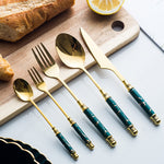 Ceramic Tableware Cutlery Set