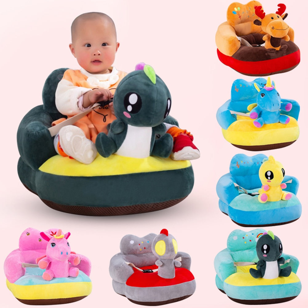 Cute Cartoon Baby Plush Chair