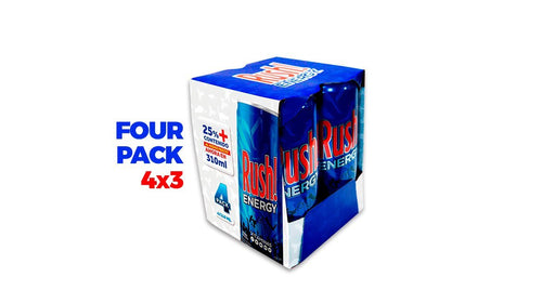 Pack Rush Energy 310 Ml