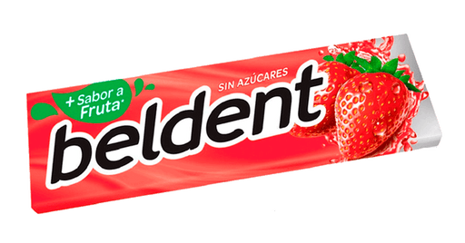 Chicle Beldent Frutilla