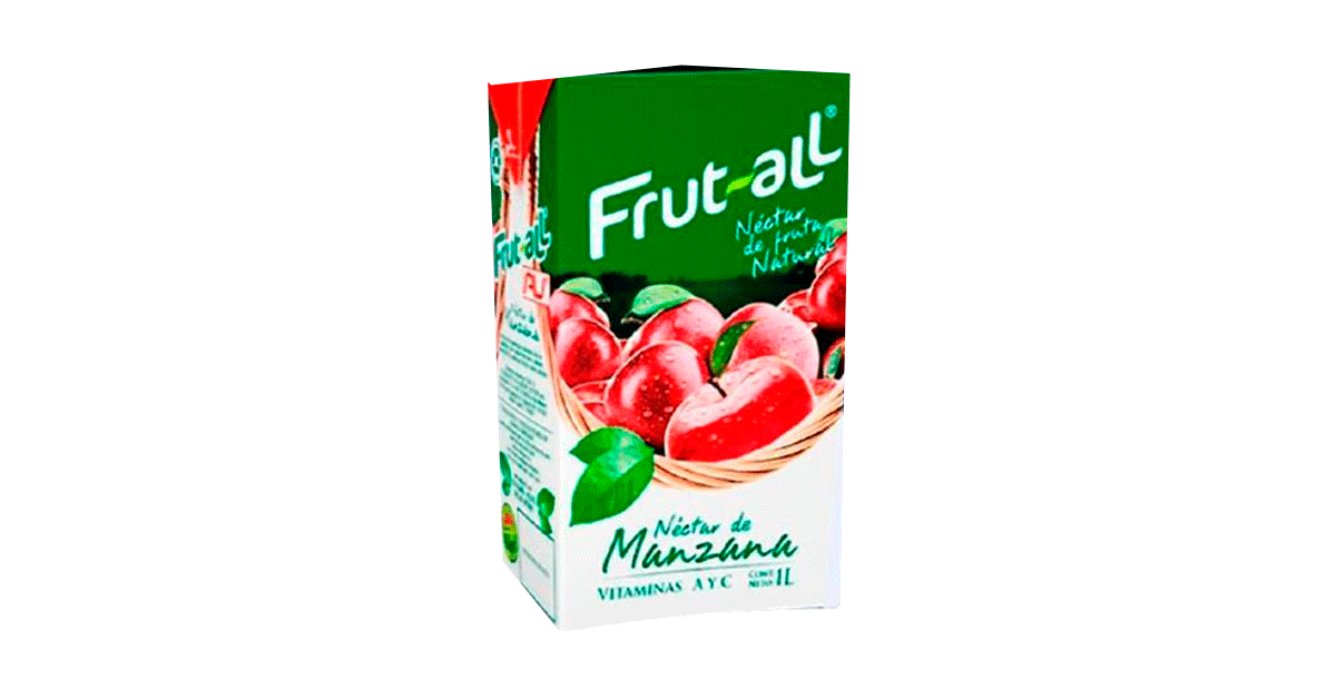 Frutt-All Manzana 1 Lt