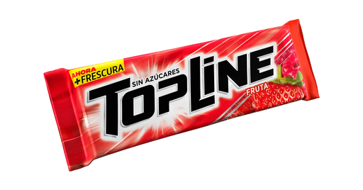 Chicle Top Line Fruta