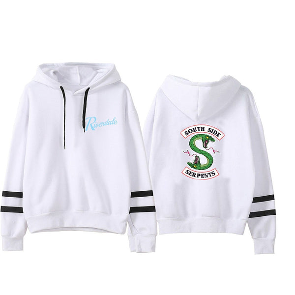 Riverdale Hooded Sweatshirts South Side Serpents Hot Sale Hoodie Riverdale Women Long Sleeve Pullover Hoodie Casual Clothes