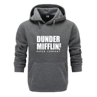 The Office Sweatshirt Men Woemn Fleece Hoodies Dunder Mifflin Paper Inc Hoodie Unisex Crewneck Moletom Feminino Hoody