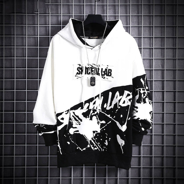 Casual Men Hip Hop Hooded Hoodies 2020 Mens Harajuku Autumn Sweatshirts Male Japanese Streetwear Loose Hoodies Funny Coats Men