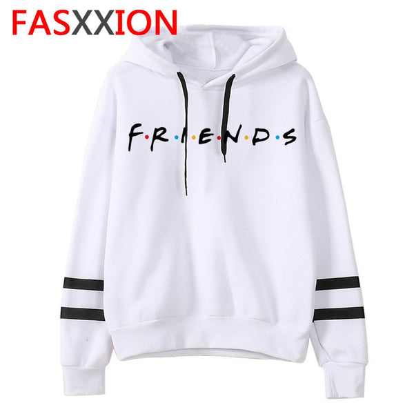 Friends Tv Shows women hoodie streetwear ulzzang Sweatshirt Oversized kawaii 90s vintage Hoodies female Casual