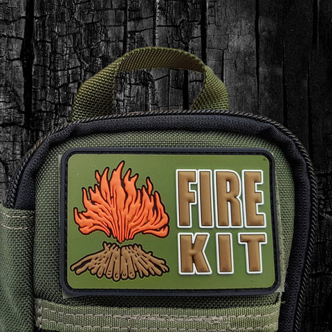 Fire Kit Velcro Morale Patch