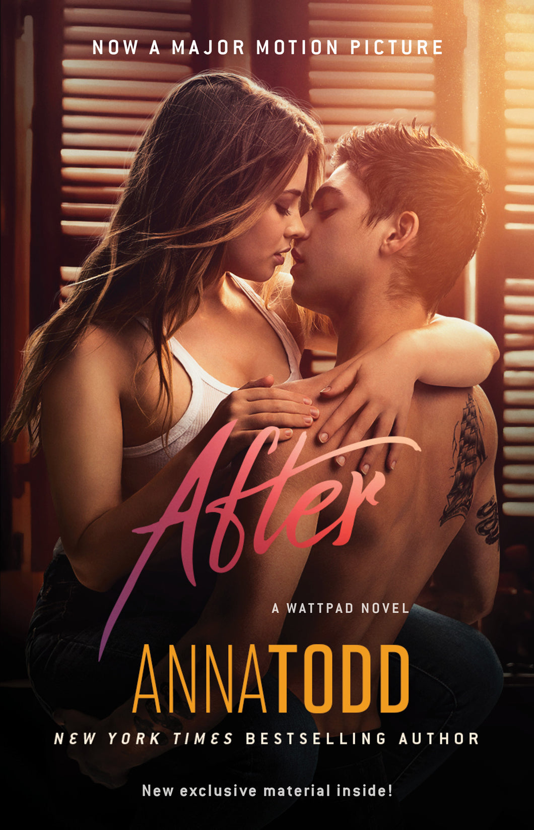 Autographed 'After' (USA Movie Edition)