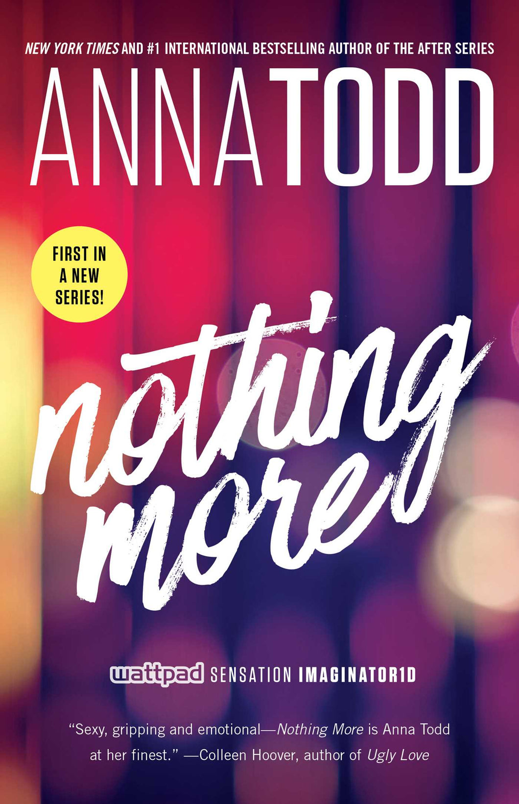 Autographed 'Nothing More' (Landon Gibson #1, USA Edition)