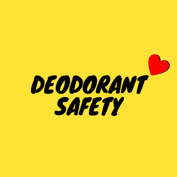 TIPS TO SAFELY CHOOSE/USE ANY NATURAL DEODORANT.