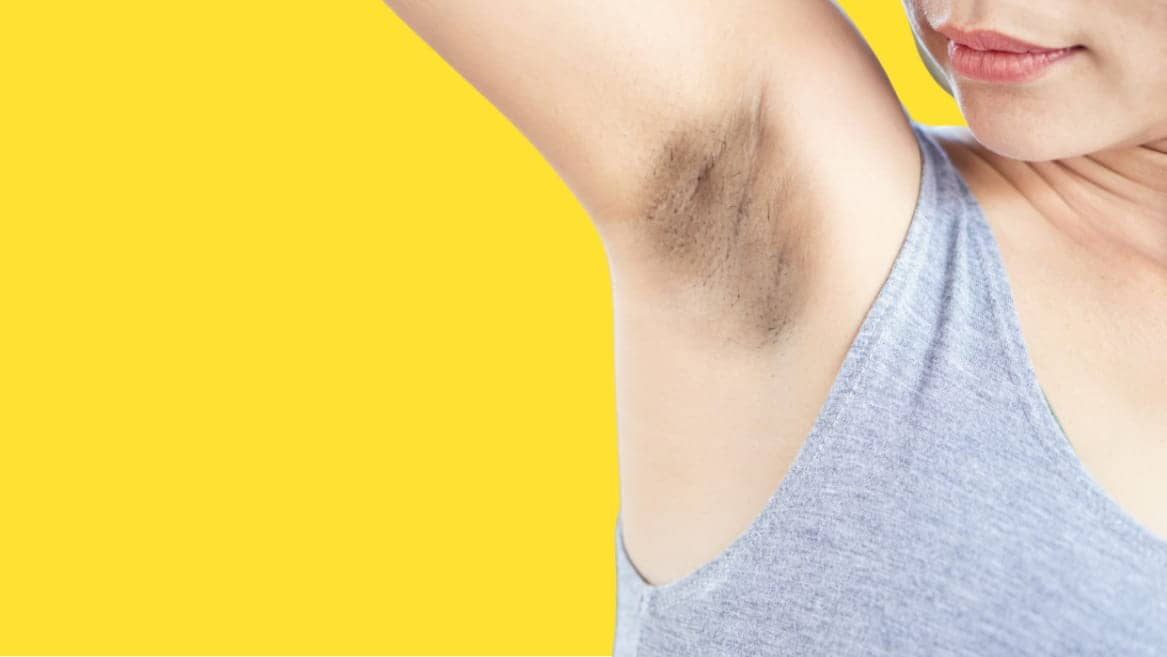 Lighten dark underarms - How to get rid of dark underarms?