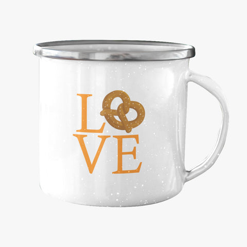 LVE Reading Enamel Mug