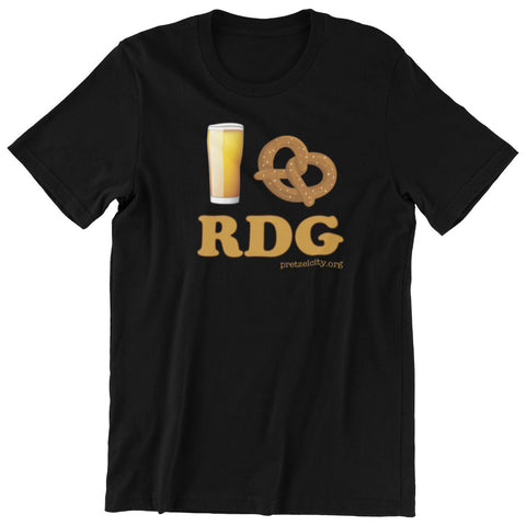 Beer Pretzel Reading T-Shirt