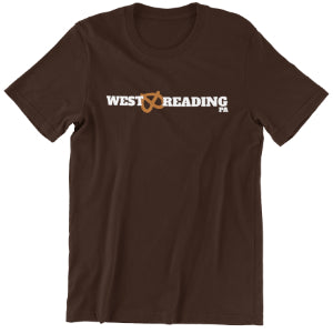 West Reading Pretzel T-shirt- men's