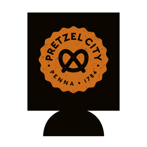 Pretzel City Can Cooler