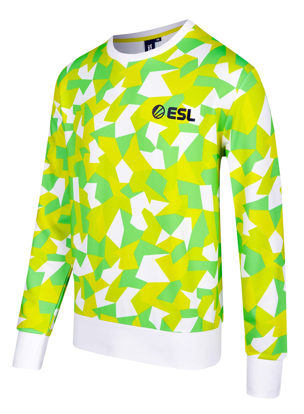 ESL In Color Sweatshirt Yellow-Green