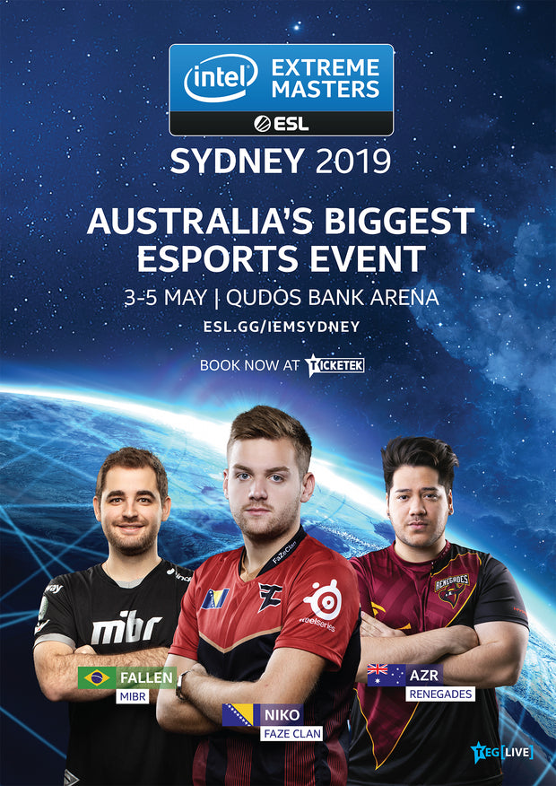 IEM Sydney 2019 Official Event Poster - A2