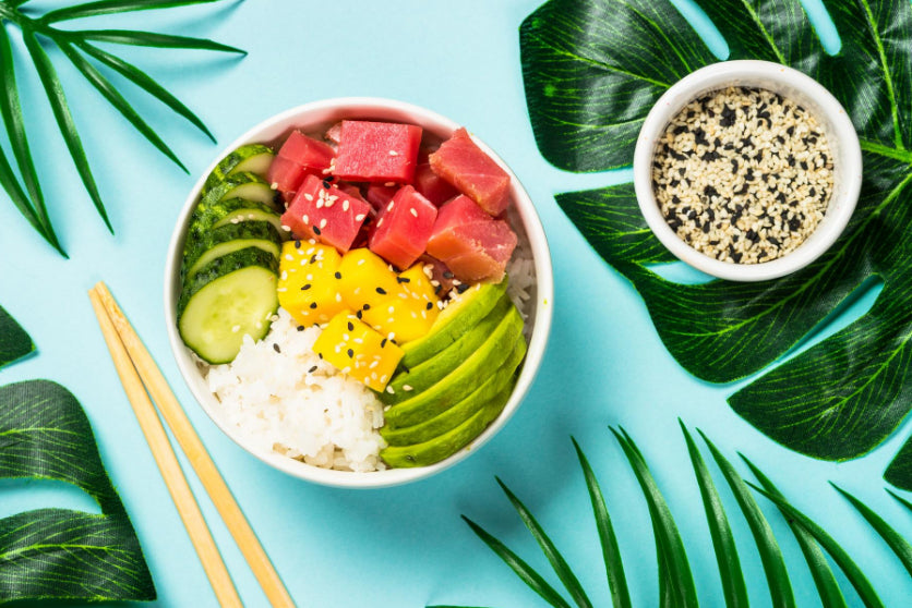 Tuna Poke Bowl Recipe