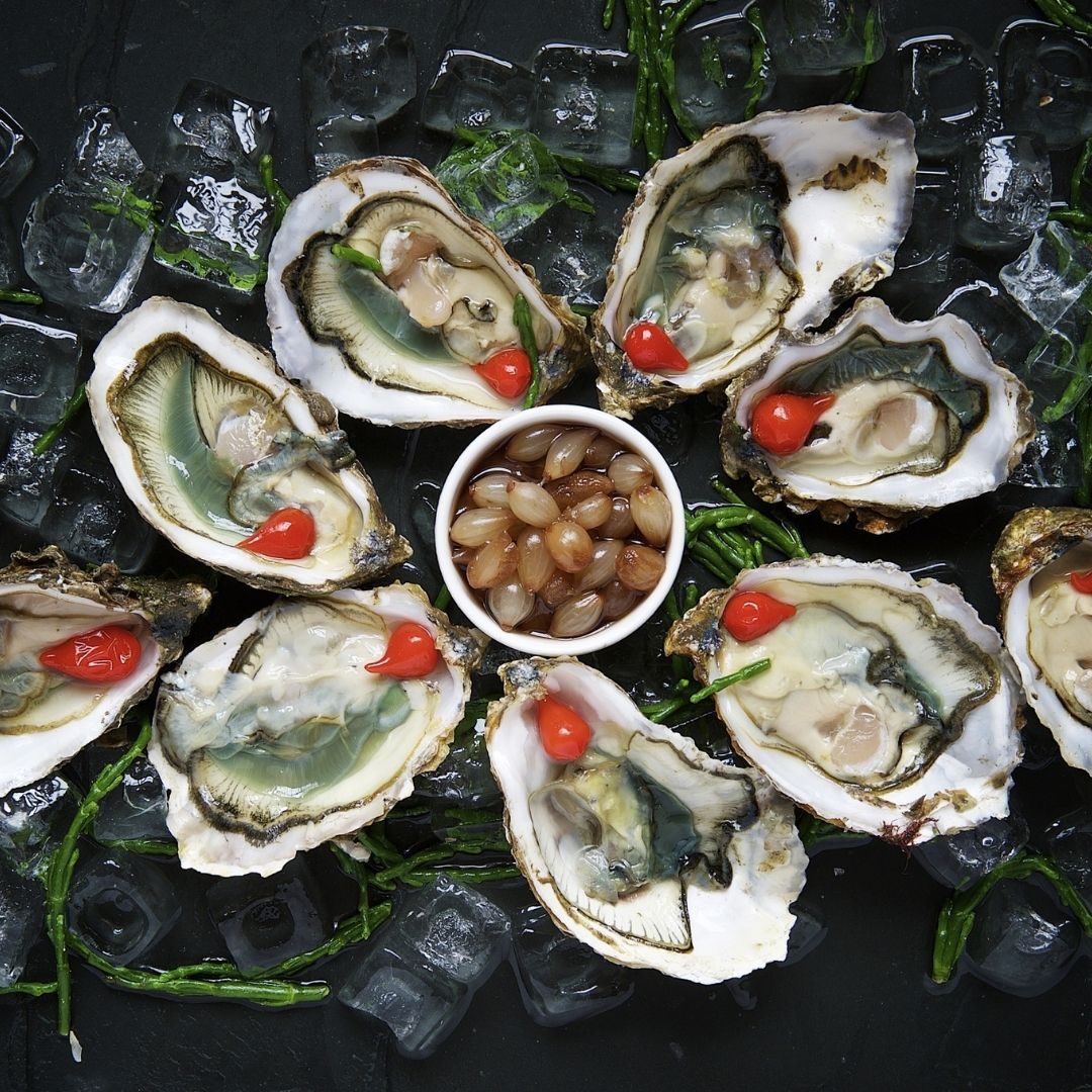 Oysters are a superfood, ours are sustainably caught| BC Live Spot Prawns & Seafood