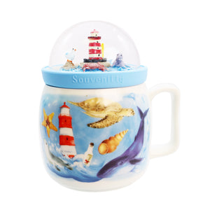 Globe Mug - Lighthouse