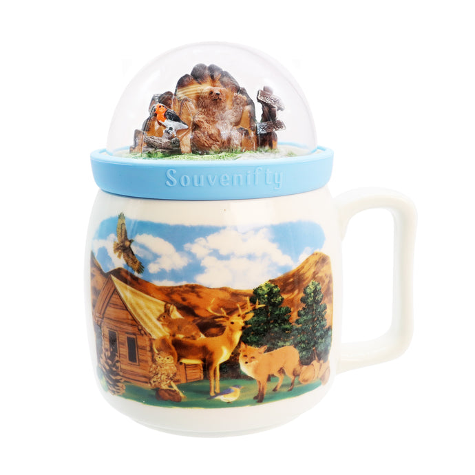 Globe Mug - Mountains