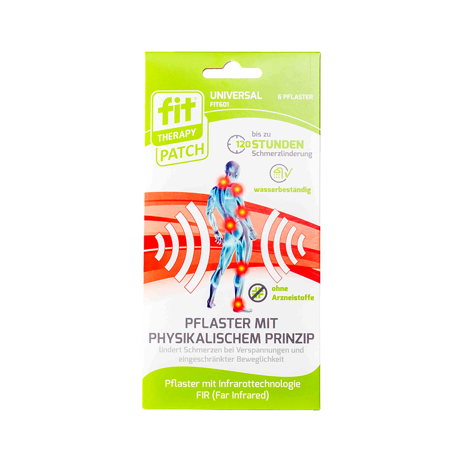Fit-Therapy-Patch-Universal 6 Stück