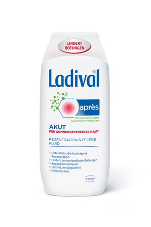 Ladival Akut Regenerationspflege Fluid Apres 200ml