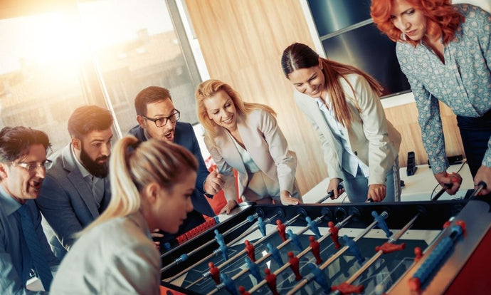 How Playing Games At Work Can Increase Productivity