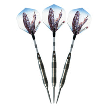 Load image into Gallery viewer, Elkadart Black Mamba 80% Tungsten Steel Tip Darts
