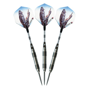 Elkadart Black Mamba 80% Tungsten Steel Tip Darts