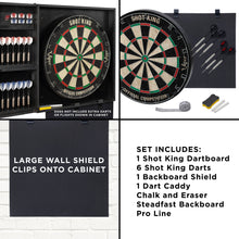 Load image into Gallery viewer, Viper Steadfast Dart Backboard with Shot King Sisal Board