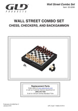 Load image into Gallery viewer, Mainstreet Classics 3-in-1 Wall Street Game Combo Set