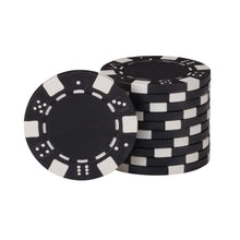 Load image into Gallery viewer, Fat Cat 500Ct Texas Hold'Em Dice Poker Chip Set